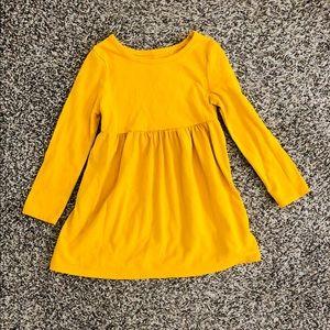 Old Navy Toddler Girl Mustard Yellow Dress